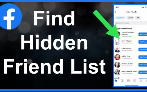 How To Uncover Someone's Private Friend List on Facebook