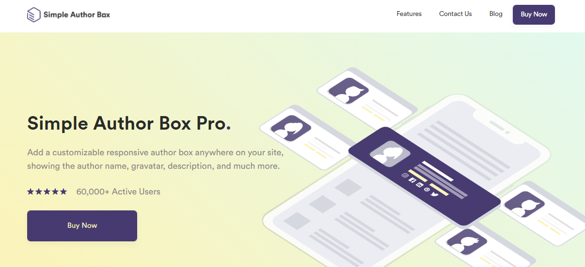 Simple Author Box - Best Plugins for Starting a Site