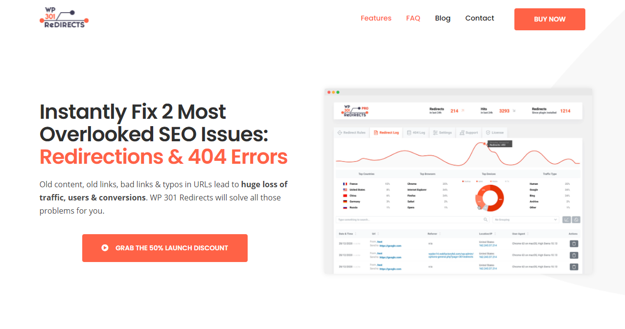 WP 301 Redirects - Best Plugins for Starting a Site